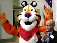 Tony the Tiger (Henny Ray Abrams / AFP / Getty)