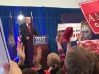 Trump New Hampshire Atkinson rally (Joel Pollak : Breitabrt News)