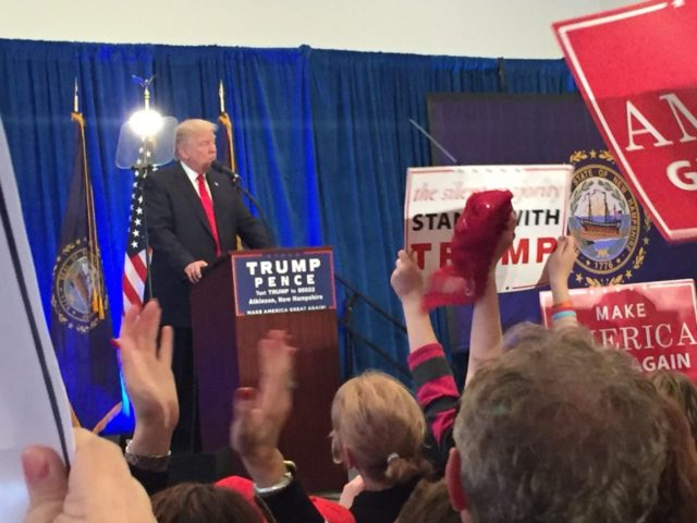 Trump to New Hampshire: 'We're Gonna Save Ourselves'