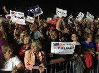 Trump crowd Selma North Carolina Rally (Joel Pollak / Breitbart News)