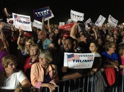 Trump crowd Selma North Carolina Rally (Joel Pollak / Breitbart News)
