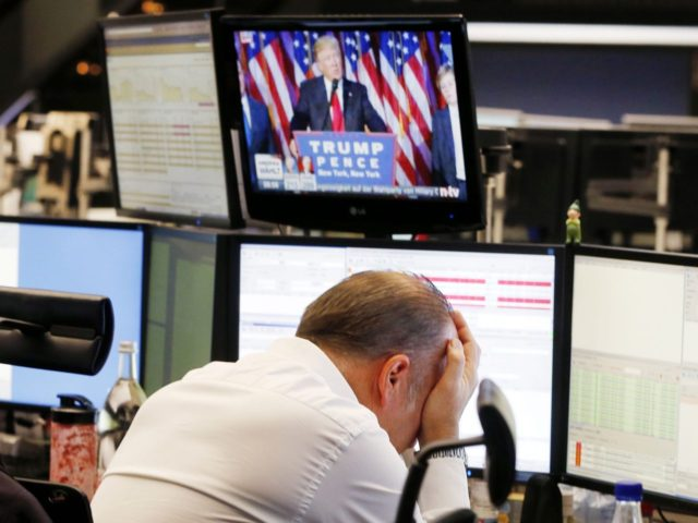 Trump stock market crash (Michael Probst / Associated Press)