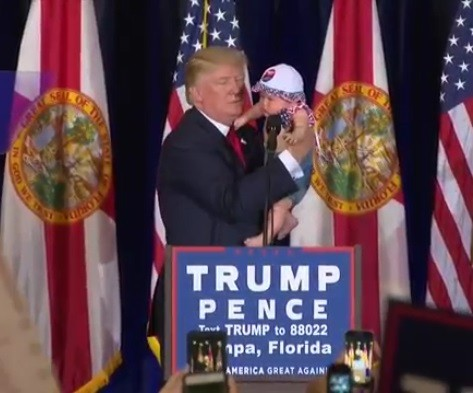 Trump in Tampa: Vows FL Win, Promises to 'Keep Radical Islamic Terrorists the Hell Out of Our Country'