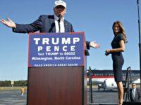 Trumps Wilmington, N.C. Evan VucciGetty
