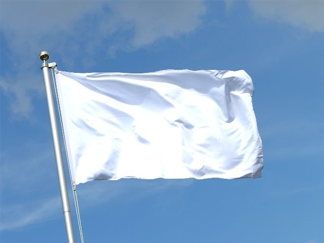 Image result for trump white flag