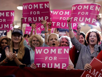 TAMPA, FL - NOVEMBER 05: Supporters cheer for Republican presidential nominee Donald Trump during a campaign rally at the Florida State Fairgrounds November 5, 2016 in Tampa, Florida. With less than a week before Election Day in the United States, Trump and his opponent, Democratic presidential nominee Hillary Clinton, are …