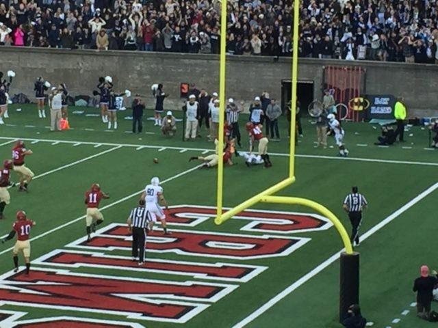 Yale Touchdown