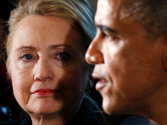 Image result for obama hillary collude