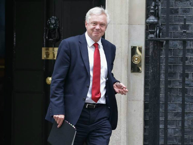 (AFP) - Brexit minister David Davis headed to Brussels Monday …