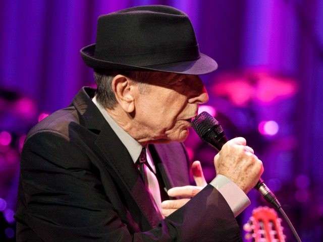 Musician Leonard Cohen performs at Madison Square Garden on December 18, 2012 in New York City. (Photo by Mike Lawrie/Getty Images)