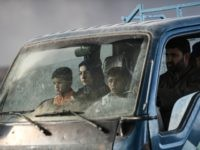 Iraqi families, who were displaced by the ongoing operation by Iraqi forces against jihadists of the Islamic State group to retake the city of Mosul, are seen near Qayyarah as they flee on October 29, 2016. Iraqi paramilitary forces launched an operation to cut the Islamic State group's supply lines …