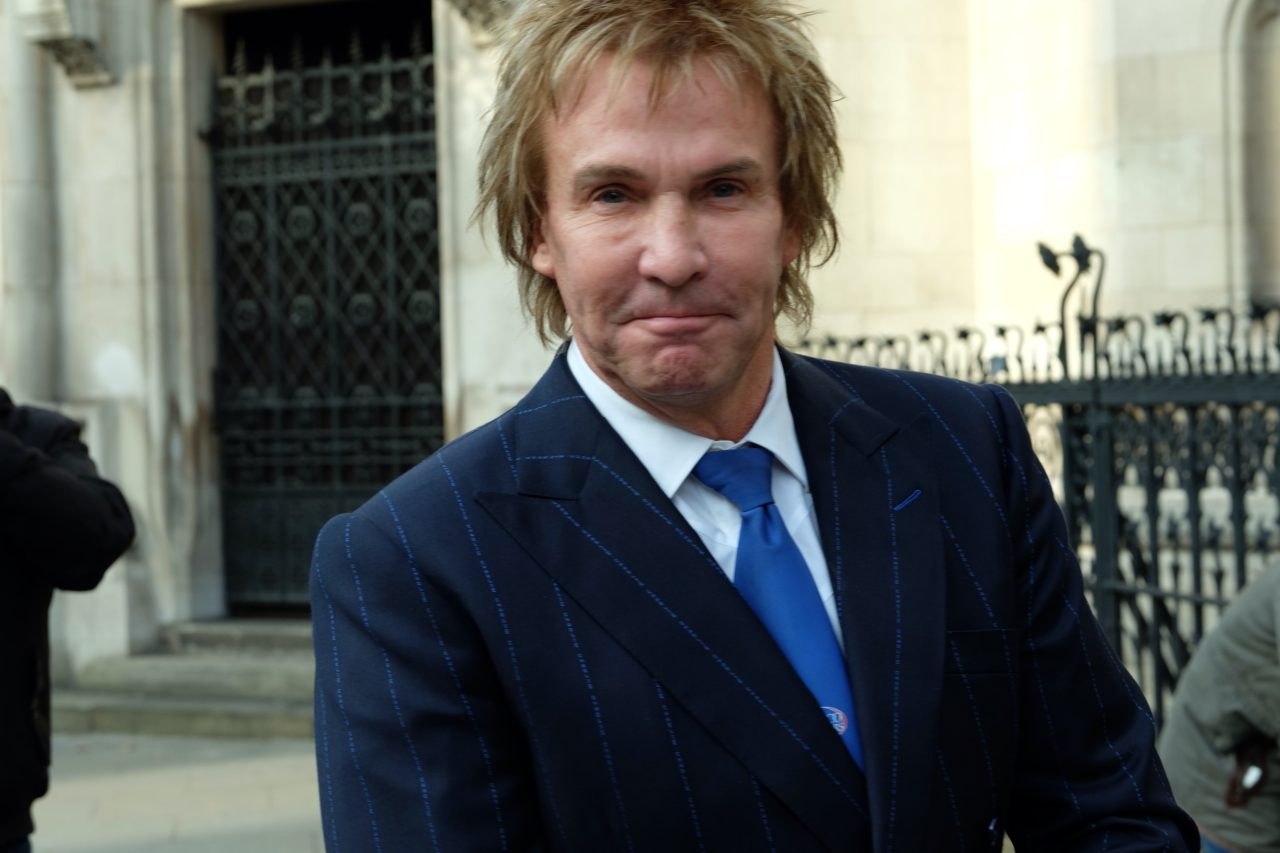 Charlie Mullins outside the High Court (Rachel Megawhatt/Breitbart London)