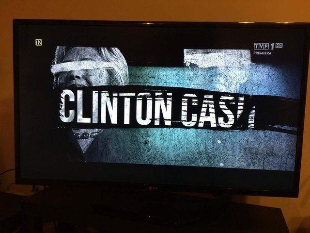 Clinton Cash airs on major Polish broadcaster TVP1 November 3rd 2016