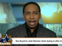 "During Friday's ""First Take,"" co-host Stephen A. Smith reacted to …"