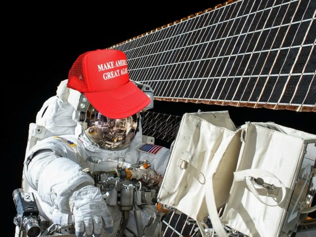 NASA via Getty Images, Breitbart Edit