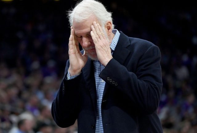 "San Antonio Spurs coach Gregg Popovich bemoaned his team's slow start as they suffered their first loss of the season after playing ""pretty unaggressively"""