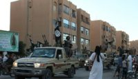 The Islamic State group took control of the Syrian city of Raqa after pushing out government troops in 2013