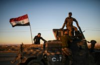 Iraqi forces launched the offensive to retake Mosul on October 17