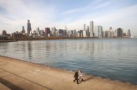 """Chicago joins Los Angeles, New York, Seattle, and San Francisco in pledge to remain a """"sanctury city"""" for immigrants, in defiance of President-elect Donald Trump, on November 14, 2016"""