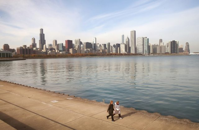 "Chicago joins Los Angeles, New York, Seattle, and San Francisco in pledge to remain a ""sanctury city"" for immigrants, in defiance of President-elect Donald Trump, on November 14, 2016"