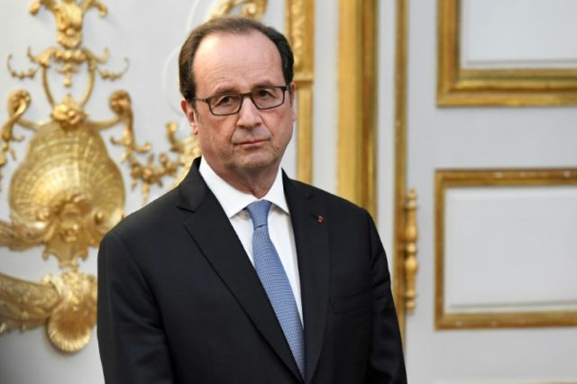 """This Paris agreement... is irreversible, no one can get out of it,"" said French President Francois Hollande during a speech in the southwest of France"