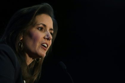 Oakland Mayor Libby Schaaf, pictured in June 2016, said the new plan satisfies some of the previous demands Raiders owner Mark Davis had made