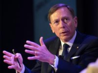Retired General David Petraeus, pictured on June 20, 2016, has been mentioned as a possible contender for secretary of state