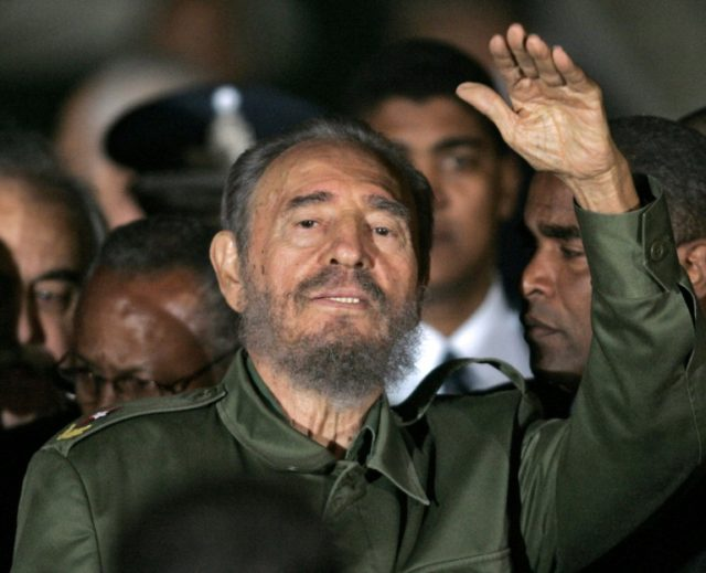 Former President of Cuba Fidel Castro pictured in 2006 died Friday night at the age of 90