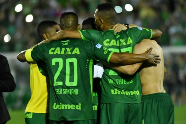 Chapecoense Real were due to play against Atletico Nacional in the first leg of the Copa Sudamericana final