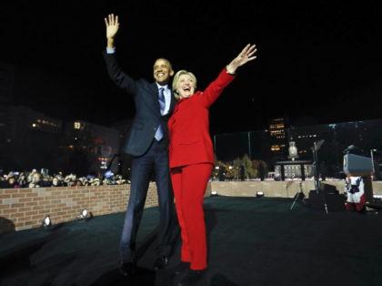 Barack Obama, Hillary Clinton,