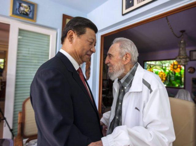 Fidel Castro, Xi Jinping
