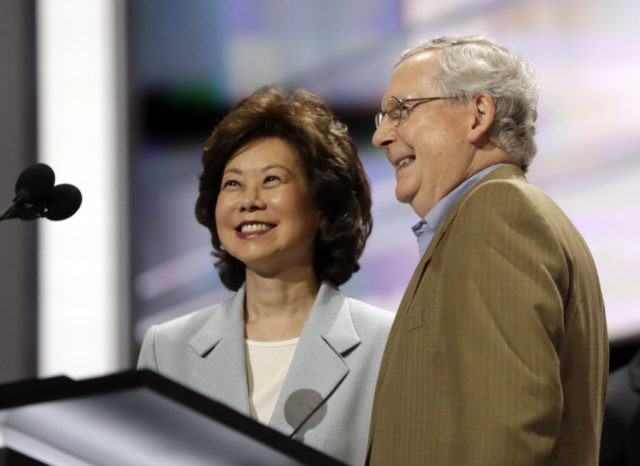 Secret Empires: How Mitch McConnell and Ellen Chao Used Political Power to Make Their Family Rich
