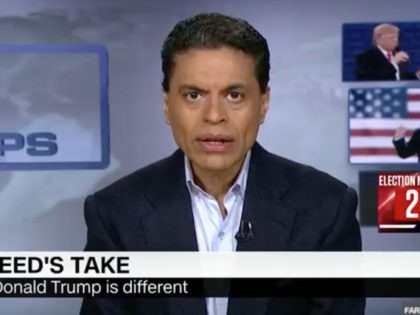 """Sunday on CNN's """"Fareed Zakaria GPS,"""" during his opening commentary, …"""