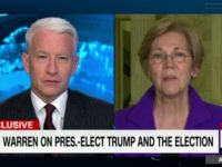 Anderson Cooper Shuts Down Elizabeth Warren — 'No Evidence' Steve Bannon Is a White Supremacist