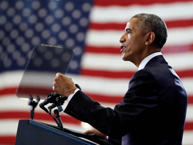 President Barack Obama speaks at MacDill Air Force Base in Tampa, Fla., Tuesday, Dec. 6, 2016,