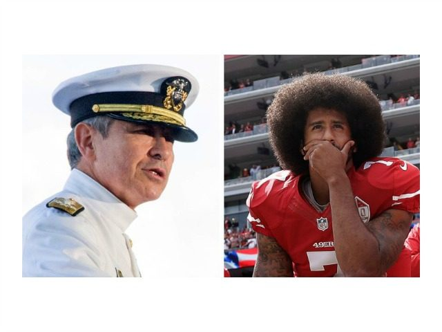 WATCH: Navy Admiral Slams Colin Kaepernick in Pearl Harbor