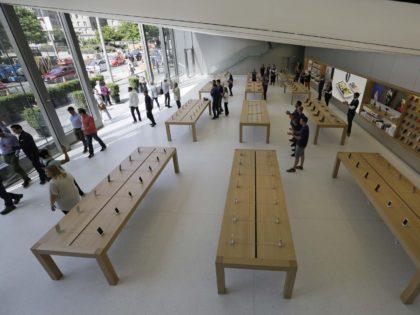 Apple Store San Francisco (Eric Risberg / Associated Press)