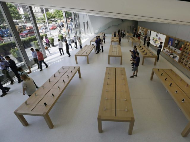 Apple Store San Francisco (Eric Risberg / Associated Press)