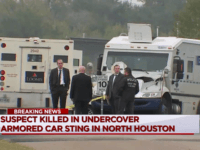Houston Armored Car Robbery Suspect Killed by Police
