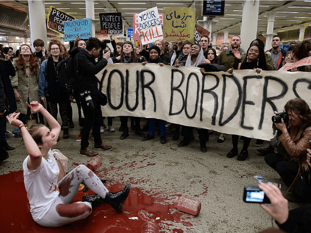 soroslinked think tank says border control causing hate