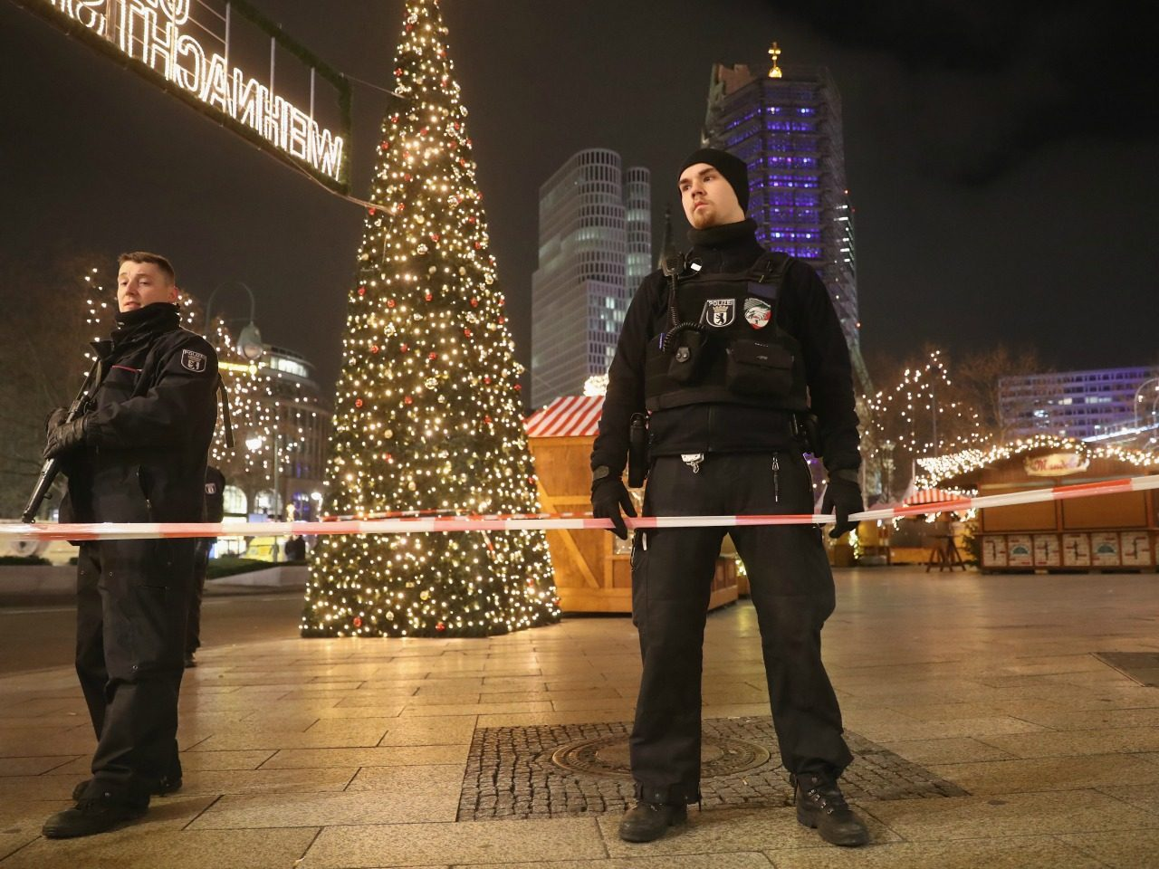 Christmas On Lockdown Beefed Up Security Across Europe