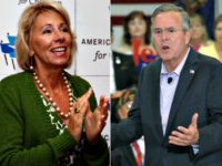 Jeb Bush on 'Extraordinary Choice' of Betsy DeVos: 'I'm So Excited'