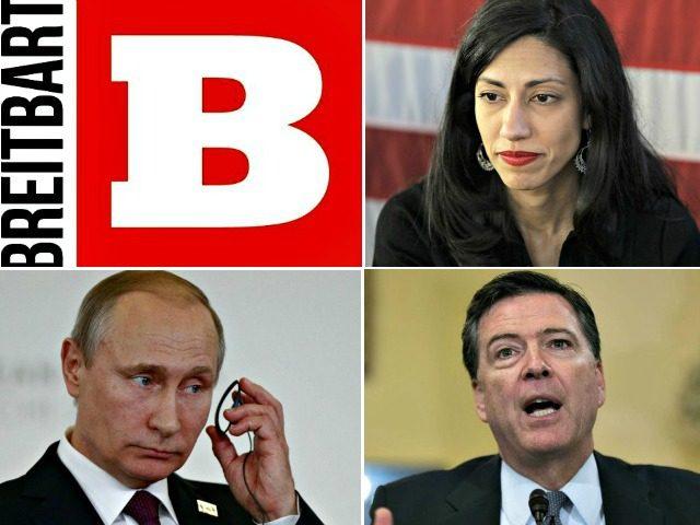 Breitbart, Abedin, Comey, Putin 1