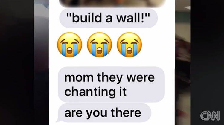 Build a wall Text to Mom