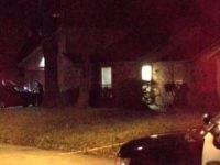 Burglary Suspect Shot