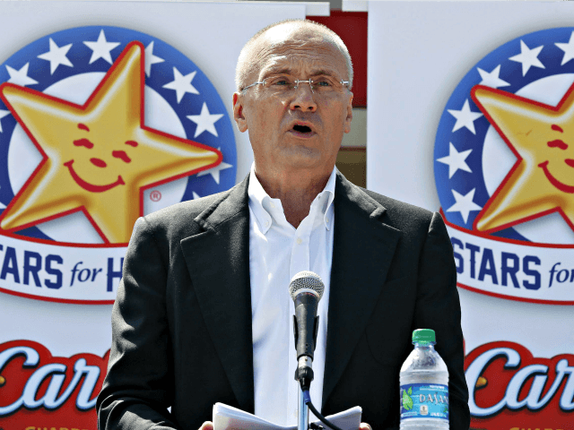 CEO Carl's Jr. Andy Puzder AP