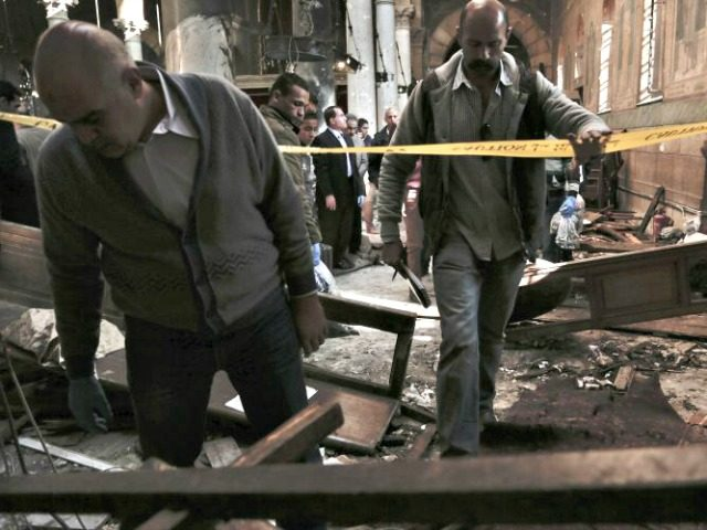 Cairo Church Bombing AP