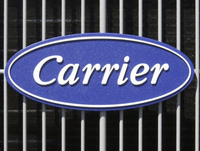 Carrier (Nati Harnik / Associated Press)