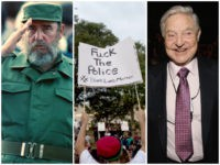 Castro-BLM-Soros-Getty