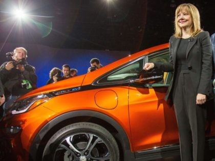 Chevrolet Bolt (Geoff Robins / AFP / Getty)